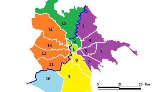 Roma nord, Roma sud e tutto il resto della città